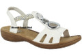The Rieker 608T8-81 sumerset braid sandal for women is the perfect summer companion for those carefree days. . Whether worn to the skirt or jeans, with this comfortable shoe you make your outfit perfect. The padded anti-stress insole ensures the highest wearing comfort throughout the day.