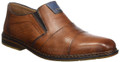 Rieker B1765-24 Brown Slip- On Shoe. Rieker shoes are not merely decorative, fashionable, products. Their functional features mean they offer much more than that. Every shoe incorporates our special construction and utilizes lightweight and elastic components to achieve our special antistress features.