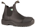Blundstone 169 Greenpatch CSA Rubber Toe Cap Black Leather