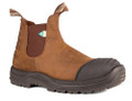 Blundstone 169 Greenpatch CSA Rubber Toe Cap Crazy Horse Brown