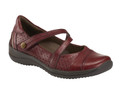 Earth Kara Galilei Women's Bordeaux Mary Jane. Earth designers transformed the Mary Jane into one of the most versatile shoes in our collection—with perforated leather, gorgeous leatherwork details, adjustable strap and blissful cushioning