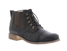 Josef Seibel Sienna 09 Black Washed Leather