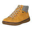 Rieker Z4243-68 Womens Yellow Laced up Boot