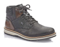 The 38434-00 black winter boot for men is a high-quality boot made with RiekerTex membrane to keep your feet dry plus a warm lining made of lambswool to keep your feet warm and comfortable. A rugged outersole make this boot a perfect trendy style for this winter. Purchase at Moose Creek Mall in Moose Creek, Ontario