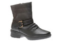 Wanderlust Gripper Black Leather W.P. Boot -Warmtex Sock lining and Molded insert -Easy care upper -TPR Weather Resistant outsole