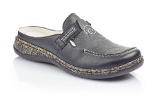 Rieker 46393-00 Black Women's Clog. Purchase at Vimi Shoes in Moose  Creek Mall
