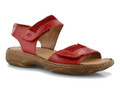 The Josef Seibel Debra 19 women's sandals are made of leather with double Velcro fastenings for a truly tailored fit. Soft leather footbeds and linings allow feet to breathe, with lightweight soles adding flex and comfort under your feet.