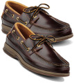 Sperry Topsider Gold Boat Amaretto. This great boat shoe is handsewn for a long lasting shoe and comfort. It features a memory foam footbed, and 18K gold eyelets for secure fit and no corrosion. Slip resistant sole