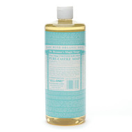 Dr. Bronner's Magic Soaps 18in1 - Baby-Mild, Unscented 32 fl. oz.