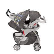Evenflo Journey Embrace Travel System, Atom Grey