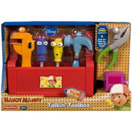 Fisher Price Disney Handy Manny's Talking Tool Box