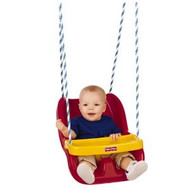 Fisher Price Infant To Toddler Swing in Red