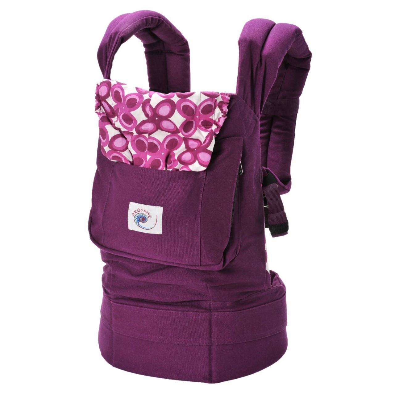 1113dc3c273 ... Ergo Baby Carrier - Purple Mystic. Image 1
