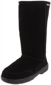 "Bearpaw - Meadow Tall 12"" Black"