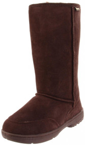 "Bearpaw - Meadow Tall 12"" Chocolate"
