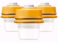 Dex MilkBank Vacuum Storage 2.5oz (3-pack)