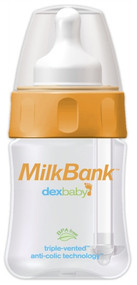 Dex MilkBank Vented Feeding Bottles 5oz Single pack