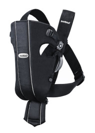 BABYBJORN Baby Carrier Original Black Cotton