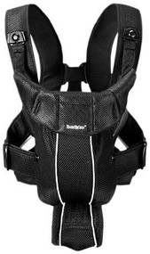 BABYBJORN Baby Carrier Active Black Mesh 025002US