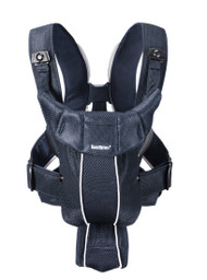 BABYBJORN Baby Carrier Active Dark Blue Mesh 025003US
