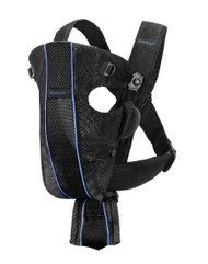 BABYBJORN Baby Carrier Original Black Mesh 029016US