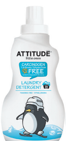 ATTITUDE LAUNDRY DETERGENT - Fragrance-Free