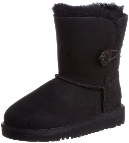 de10f2dee86 UGG Australia Infants' and Kids' Bailey Button Shearling Boots - black