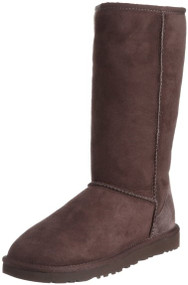 UGG Australia Womens Classic Tall Boot - Chocolate