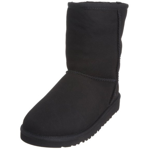3b84ea9d6fe UGG Kids and Toddlers Classic Short Boot - Black