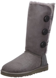UGG Women's Bailey Button Triplet - Grey