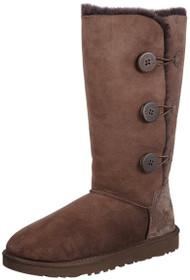 UGG Women's Bailey Button Triplet - Chocolate