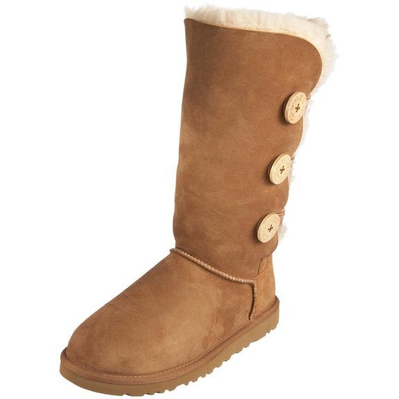 bb34abbcbfe UGG Women's Bailey Button Triplet - Chestnut