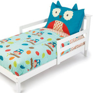 Skip Hop 4 Piece Toddler Bedding Set, Owl