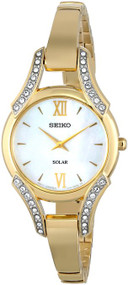 Seiko Women's SUP216 Analog Display Japanese Quartz Gold Watch