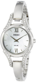 Seiko Women's SUP213 Analog Display Japanese Quartz Silver Watch