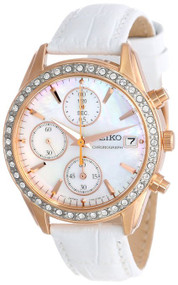 Seiko Women's SNDY16 Chronograph Watch