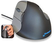 Evoluent VerticalMouse 4 Left Hand (model # VM4L) - USB Wired