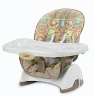 Fisher-Price Space Saver High Chair, Coco Sorbet