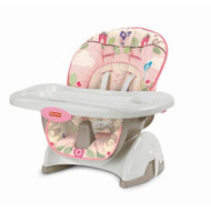 Fisher-Price Space Saver High Chair, Pink