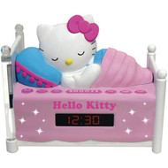 HELLO KITTY KT2052A Alarm Clock Radio with Night Light (Discontinued by Manufacturer)