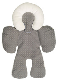 JJ Cole Collections Body Support, Graphite, 0-8 Months