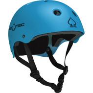 Pro-tec Classic Skate Matte Skateboard Helmet, blue