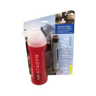 Katadyn MyBottle Purifier, Red Splash