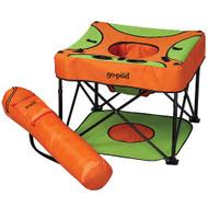 KidCo P7001 Go-Pod Sorbet Portable Activity Seat - Green and Orange