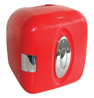 Koolatron coca cola 9 can capacity mini fridge red