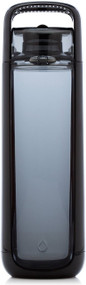 KOR ONE BPA Free 750ml Water Bottle, Anthracite Black