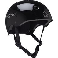 Pro-tec Classic Gloss Skateboard Helmet, black XL