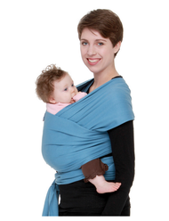 Moby Wrap Original 100% Cotton Baby Carrier, Indigo
