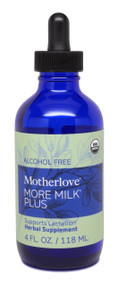 Motherlove More Milk Plus Alcohol Free 4 oz