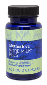 Motherlove More Milk Plus Vegetarian Capsules, 60 Caps
